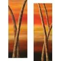 Diptyque - Arbres de la savane 1&2