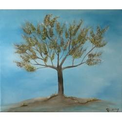 L'arbre de l'espoir (bleu)